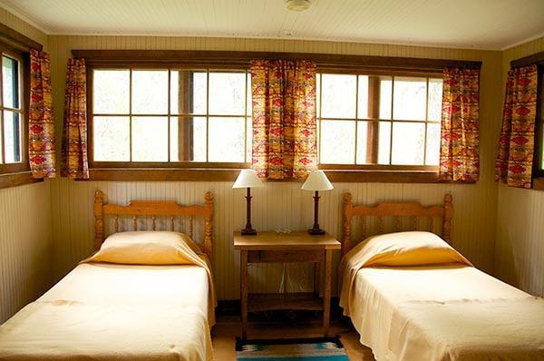 Applegate cabin twin beds