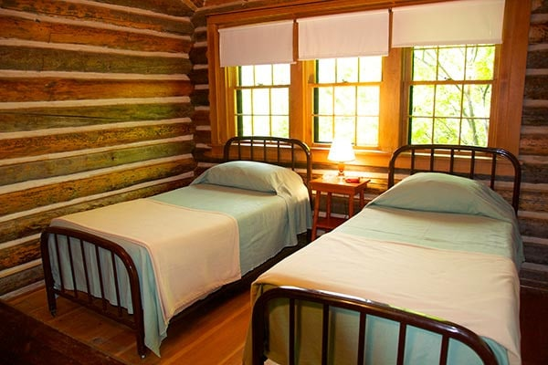 Ayres Cabin twin beds