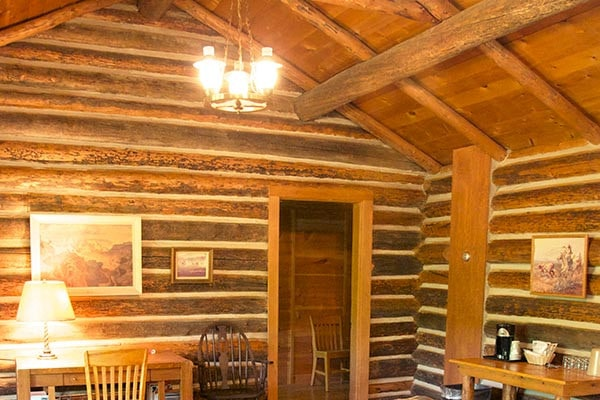 Ayres Cabin Vaulted Ceiling