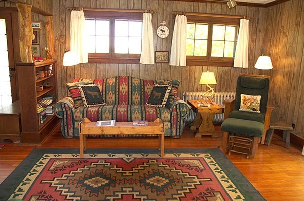 Dailey Cabin living room