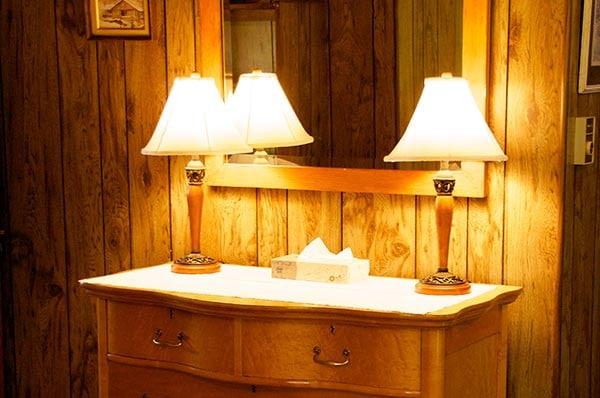 Dailey Cabin bedroom dresser