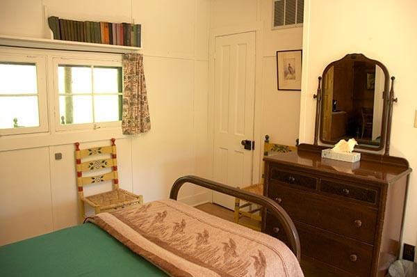 Duncan Cabin bedroom