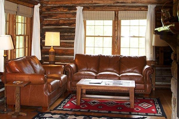 Lodge Cabin living room