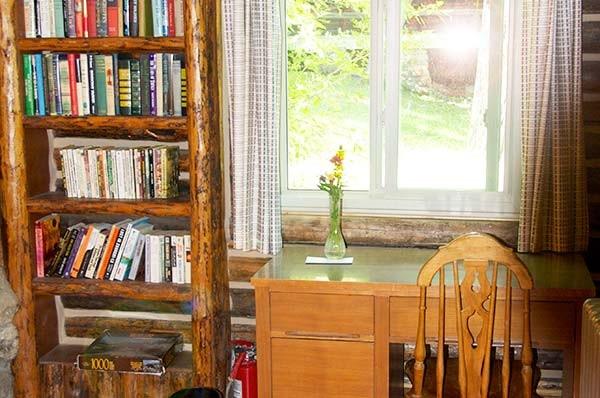 Moss Cabin desk