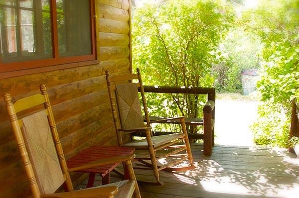 Nimich cabin porch