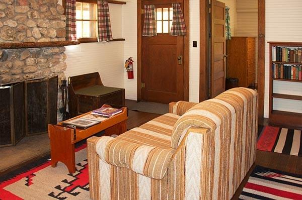 Sanders Cabin living room