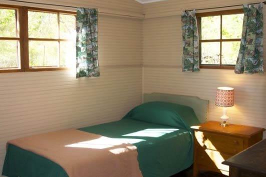 Sanders Cabin Bedroom