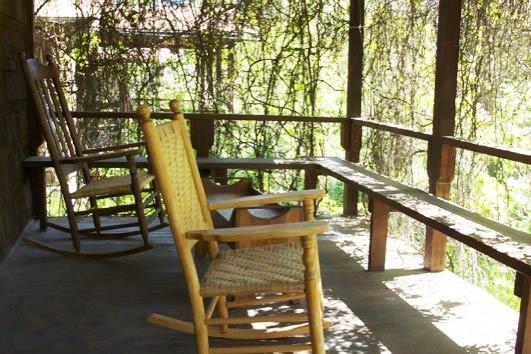 Schillar Cabin Porch