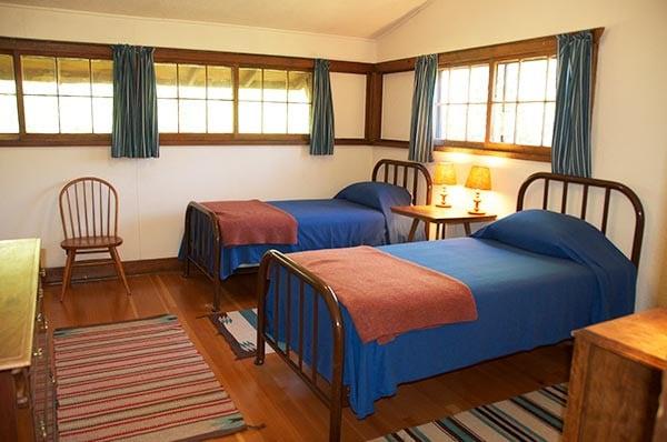 Stevens Cabin twin beds