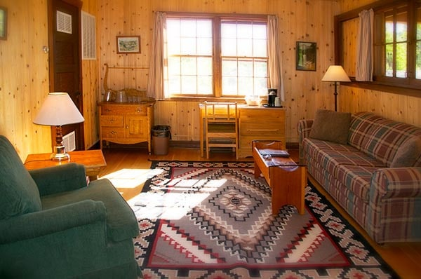 Stevens Cabin Living Room