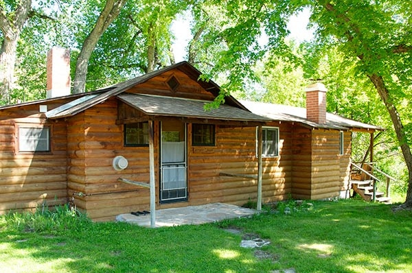 Storybook Cabin Exterior