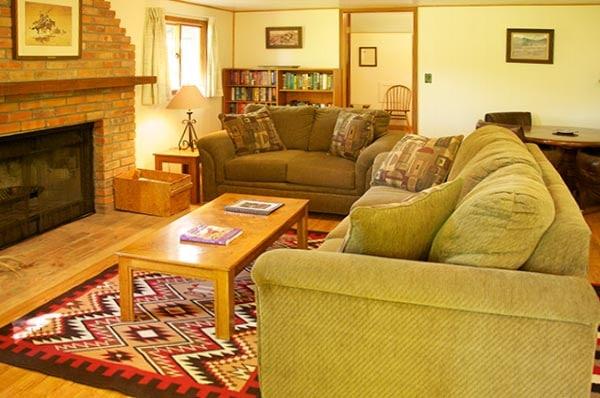 Storybook Cabin living room