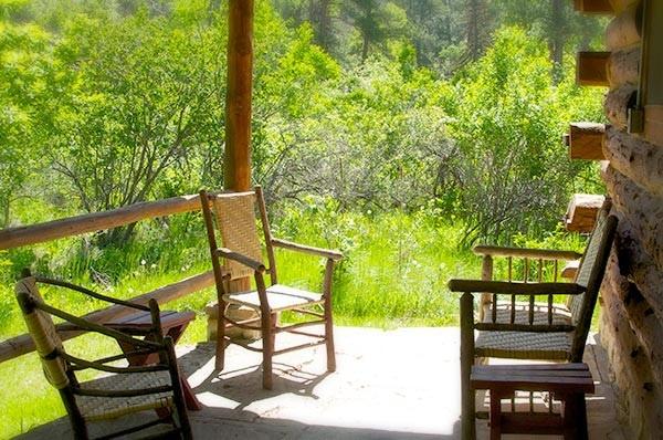 Toyland Cabin porch