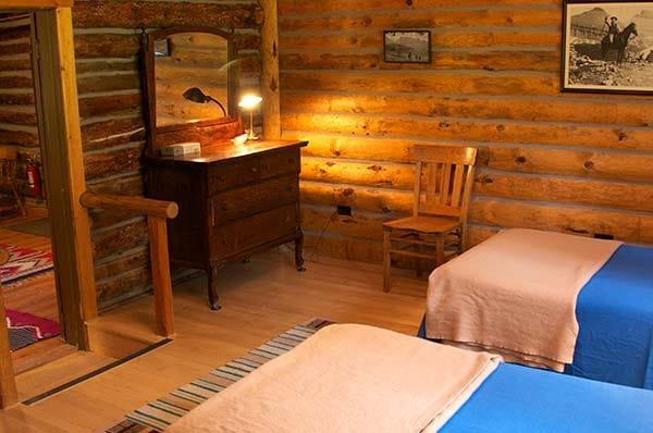 Wigwam bedroom