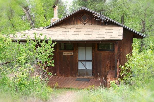 Williams Cabin exterior