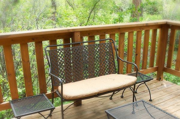 Williams Cabin porch