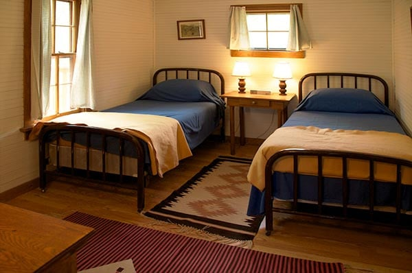 Williams Cabin twin beds