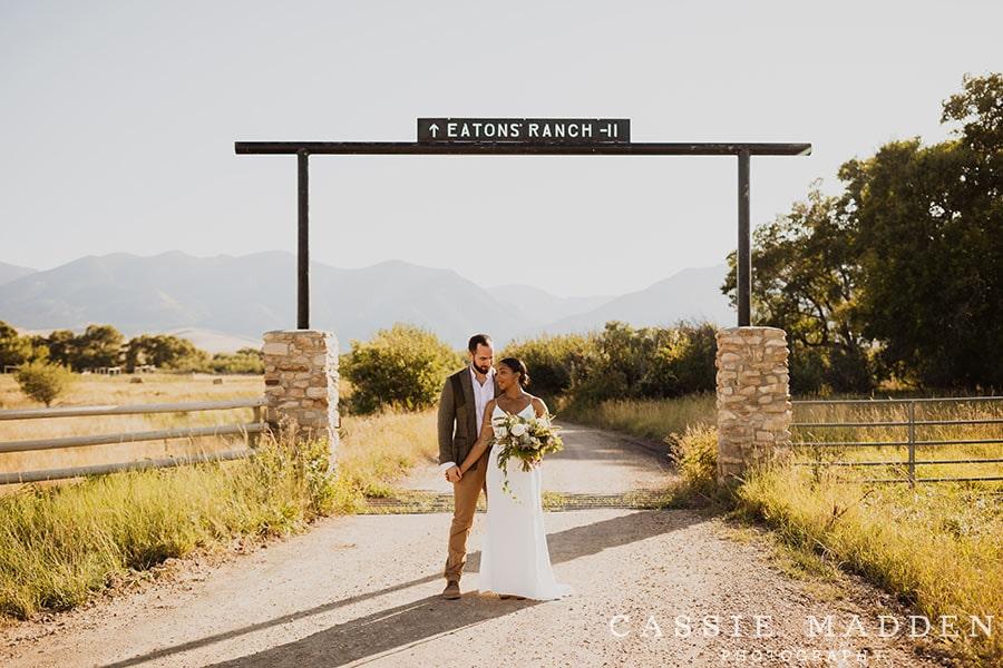 Sheridan WY Wedding Venues: Eatons' Ranch