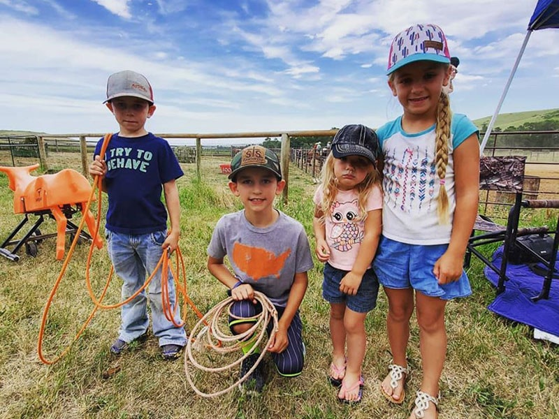 roping kids at one of the Best All Inclusive Resorts for Families