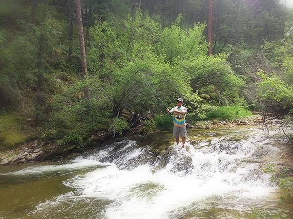 fishing wolf creek