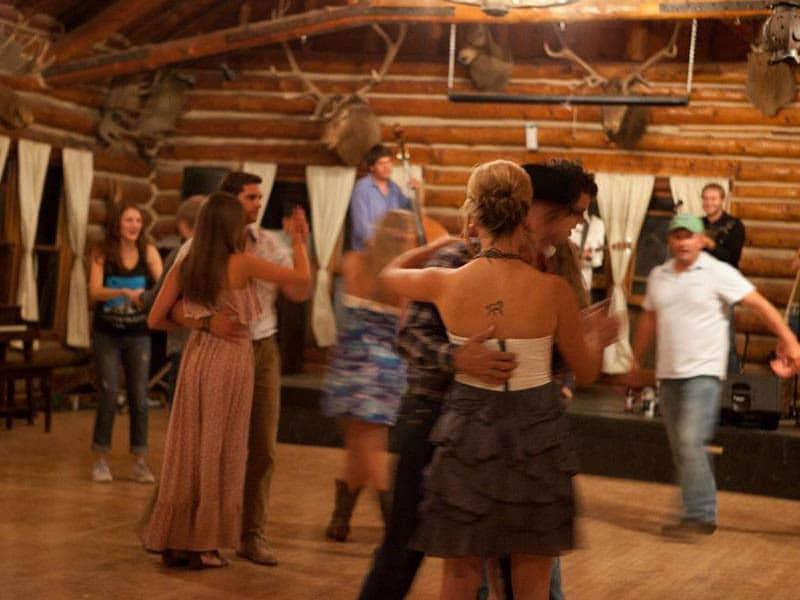 Wyoming summer vacation dancing