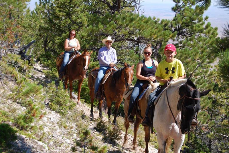 Best All Inclusive Resorts for Families: horseback riding