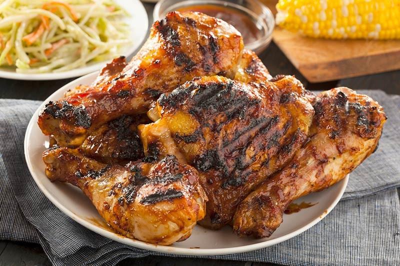 BBQ Chicken lunch buffet