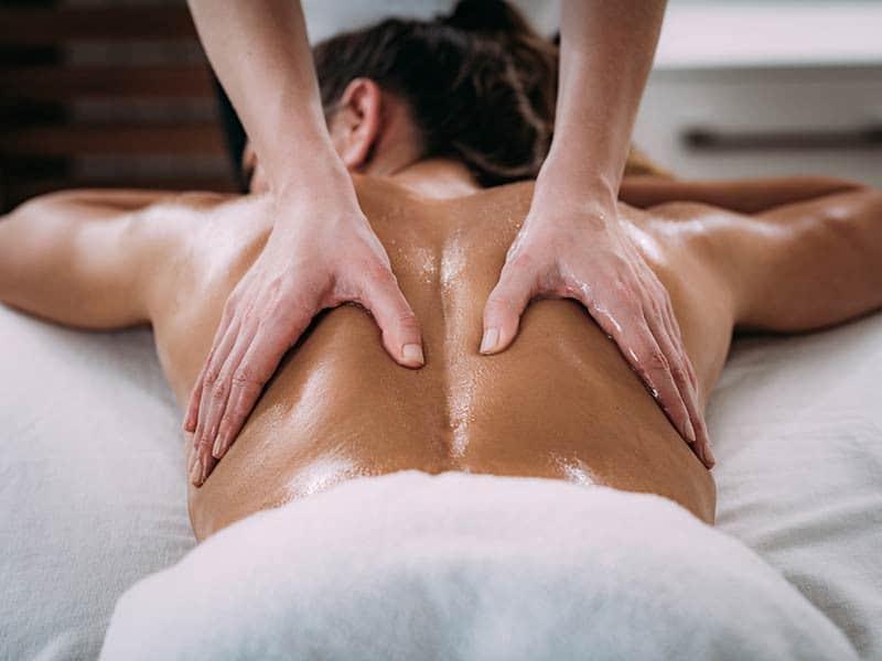 Wyoming summer vacation massage