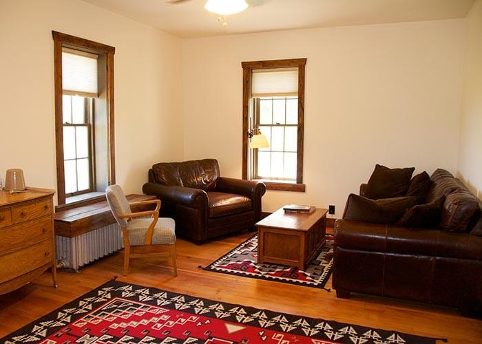 Main House Room 1 sitting area