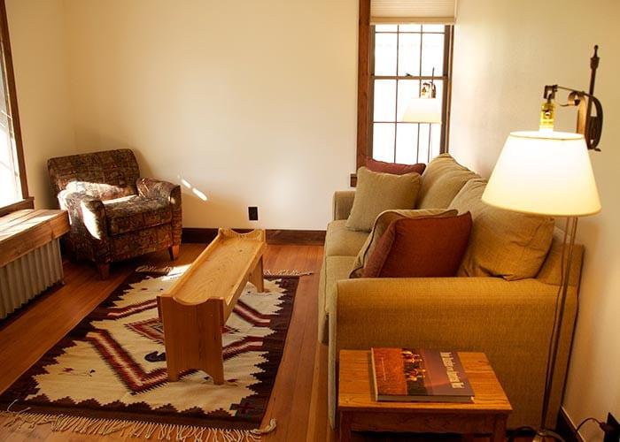 Main House Room 2 sitting area