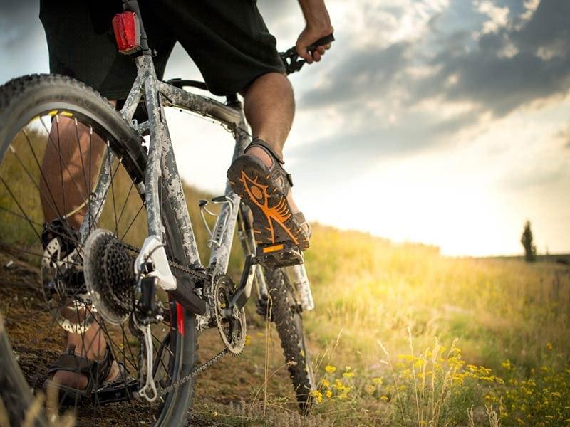 Wyoming summer vacation Mountain Biking
