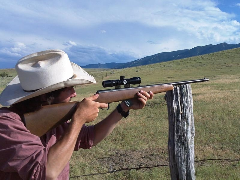 Wyoming summer vacation trap shooting