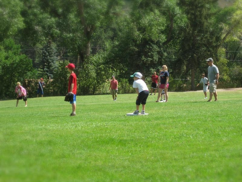 Wyoming summer vacation rodeo softball