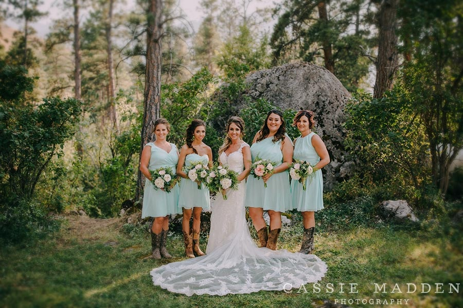 Sheridan Wyoming Wedding venues in the woods