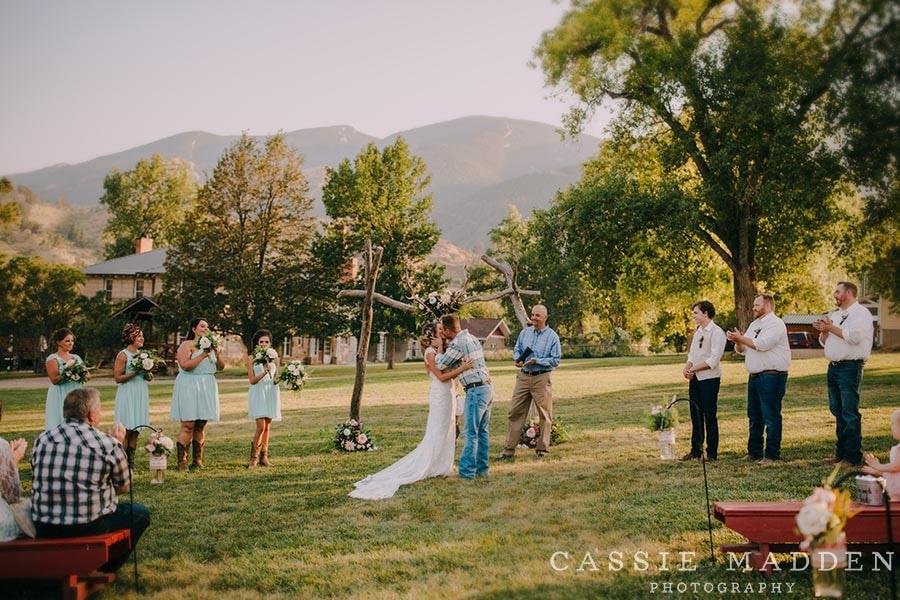 Sheridan Wy Wedding Venues: Ceremony site