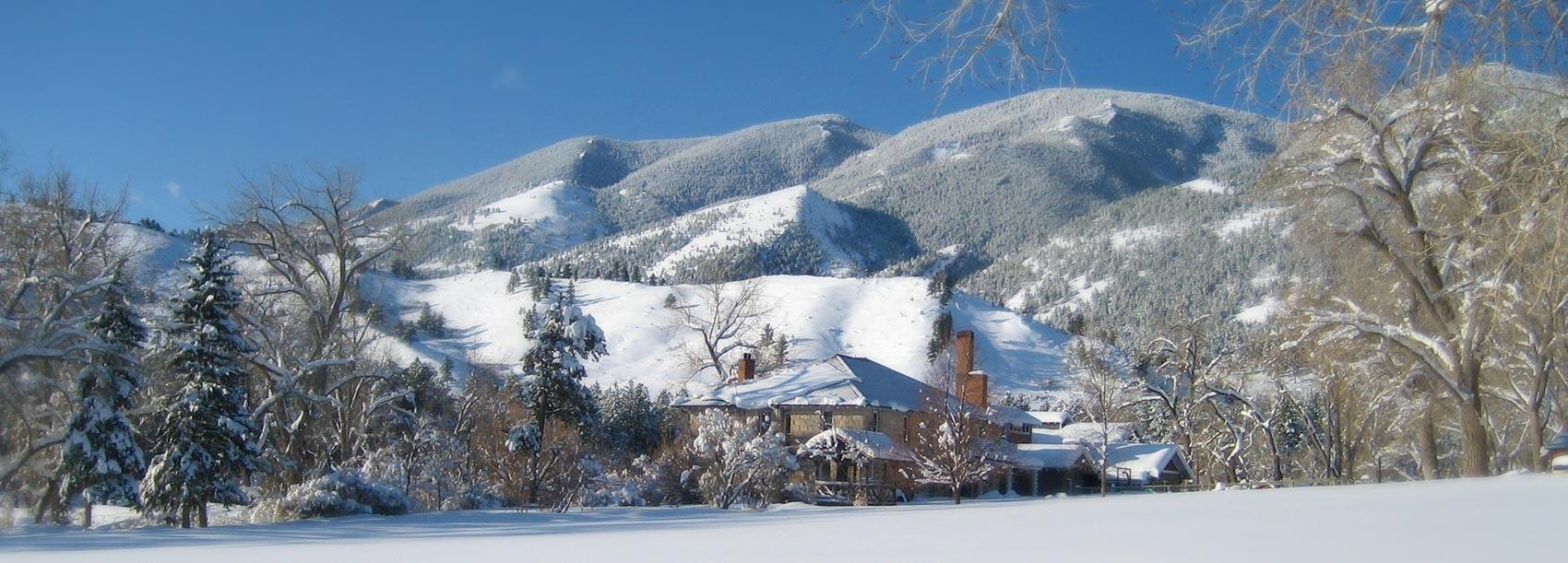 Winter B&B at Eatons' Ranch