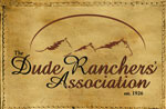 Proud member of the Dude Ranch Association